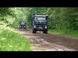 Volvo FMX Test drive Самые суровые Volvo Первый тест в России