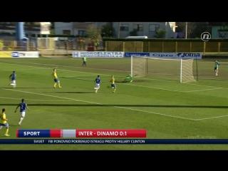 Inter-Zapresic - Dinamo 0-1, izvjesce (HNL 14. kolo), 29.10.2016. HD