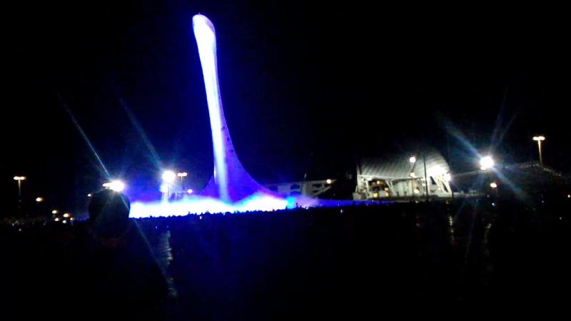 Сочи олимписк поюший водопад