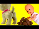 Барби ПОТЕРЯЛА ДЕТЕЙ Видео с куклами для девочек Какающая собака Barbie