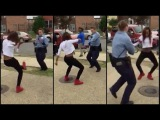 D.C. COP DANCE OFF With Teen Aaliyah Taylor &amp Interview, Not all cops are bad