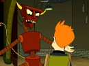 Futurama - the Robot Devil criticizes Fry's writing