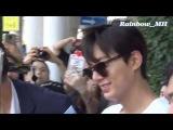 [직캠] 20160614 LeeMinHo arrived in Incheon Airport from Shanghai~~by Rainbow_MH