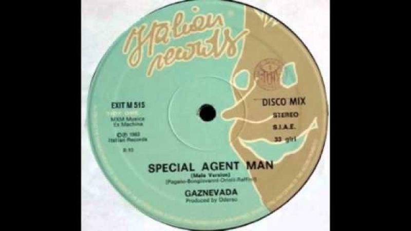 Gaznevada - Special Agent Man (Female Version)