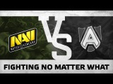 WATCH FIRST: FIGHTING NO MATTER WHAT - Na`Vi vs Alliance @ The Manila Major