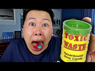 PAINFUL TOXIC WASTE CHALLENGE!!!