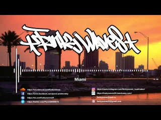 funky waves - miami (BOOM BAP BEATS FOR SALE)