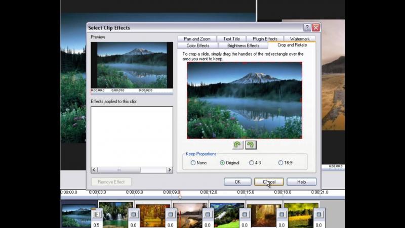 Как сделать слайдшоу из картинок