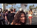 Фотосет возле Venice Muscle Beach с Арнольдом Шварценеггером и другими именитыми спортсменами.