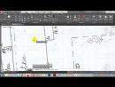 Урок_auticad_вставить план в jpg и отмаштабировать_ Используем левую клавишу мыши!