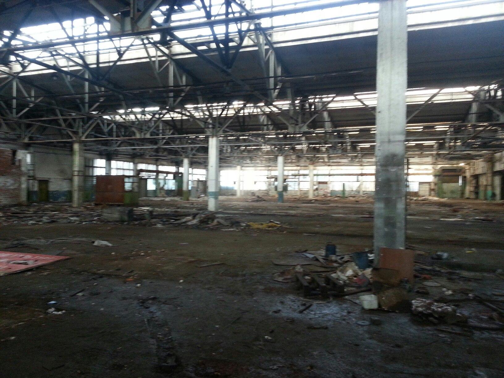 Заброшеный завод в Белгороде