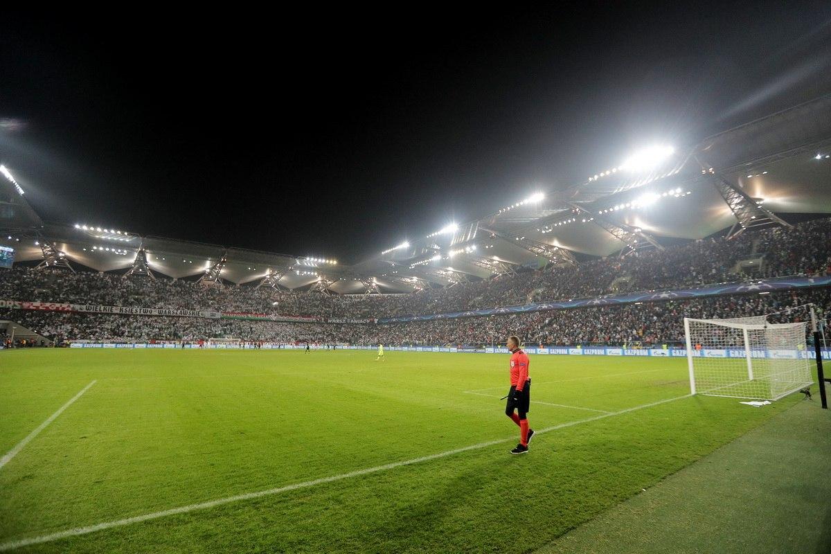 Легия Варшава - Спортинг Лиссабон