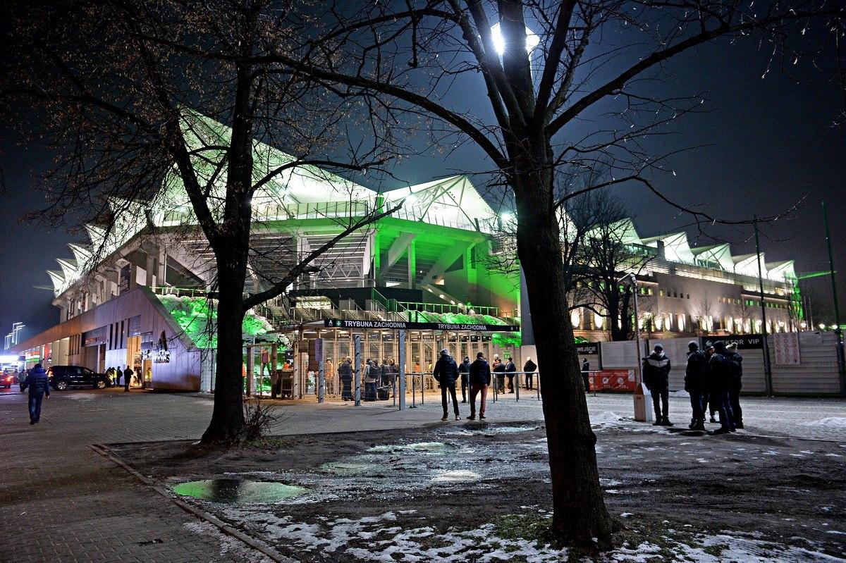 Стадион Легии Варшава