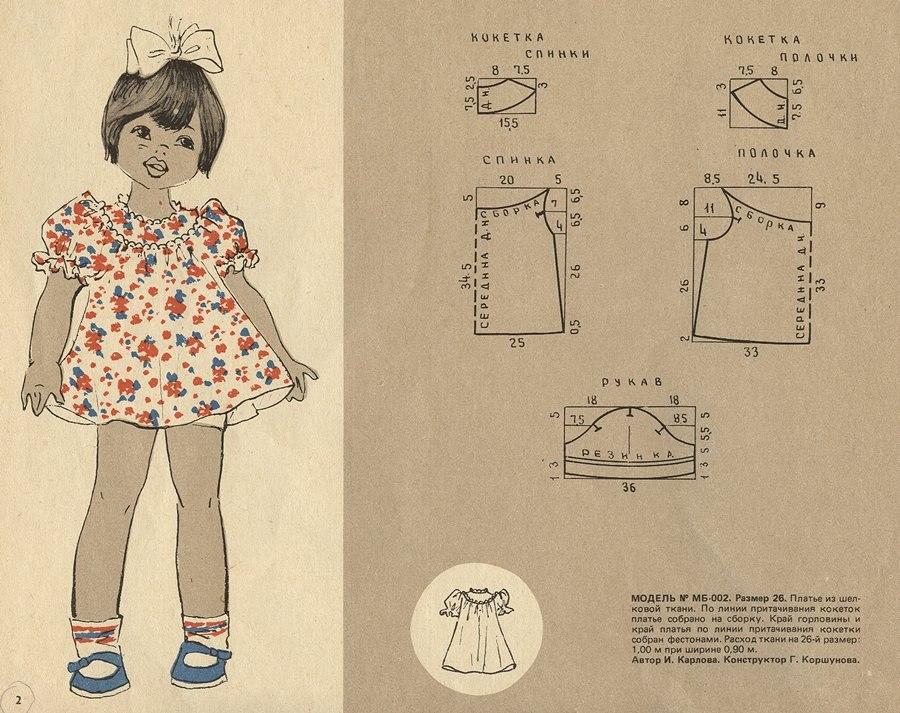 Сшить платье детское своими руками выкройки с фото