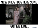 GHOSTBUSTERS new song...