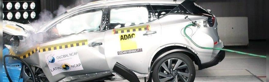 Nissan Murano провалил краш-тест