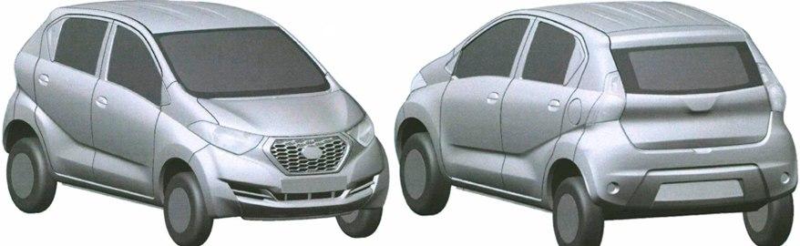 Nissan запатентовал в России дизайн индийского «Датсуна»