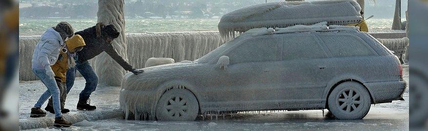 На Москву идет ледяной дождь
