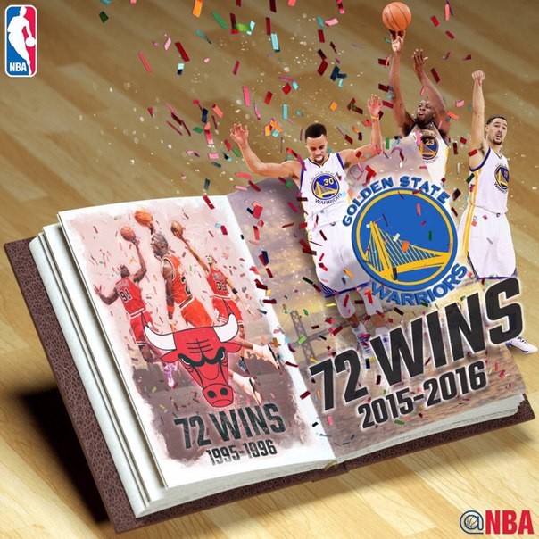 Golden State Warriors 73 Win Season vs Chicago Bulls 72 Win Season