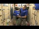 МКС. Утренние процедуры. Как космонавты чистят зубы