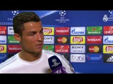 Интервью Криштиану Роналду после матча: