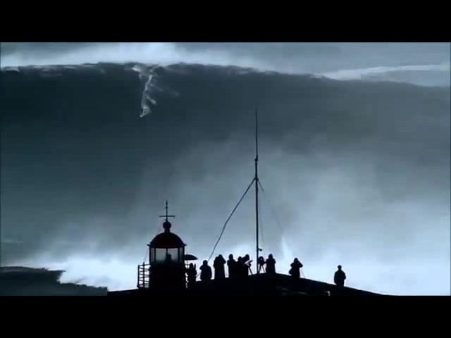 BIGGEST WAVE in the World surfed 100ft at 02:50min (REAL FOOTAGE)Carlos Burle Portugal
