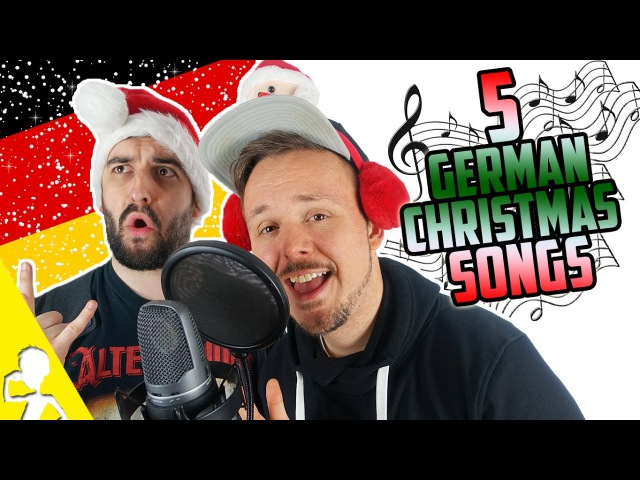 5 Traditional German Christmas Songs | Performed By 2 Untalented Germans | Get Germanized VlogDave
