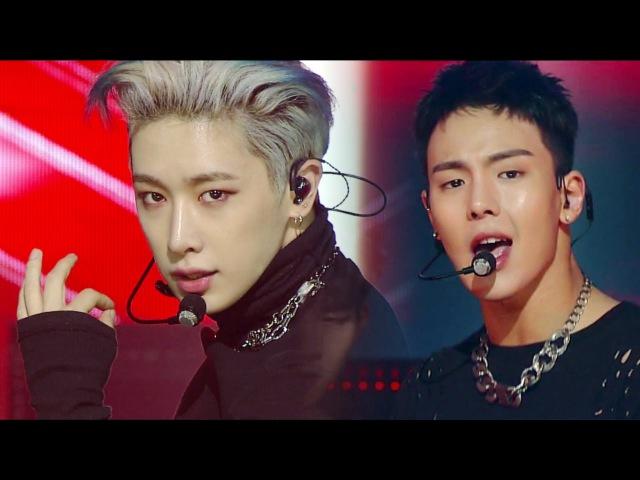 《Comeback Special》 MONSTA X (몬스타엑스) - Be Quiet @인기가요 Inkigayo 20161009