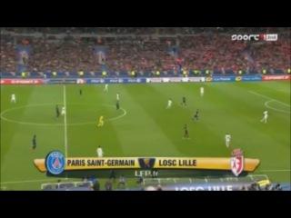 Пари Сен-Жермен - Лилль 2-1 (23 апреля 2016 г, Финал Кубка французской лиги)