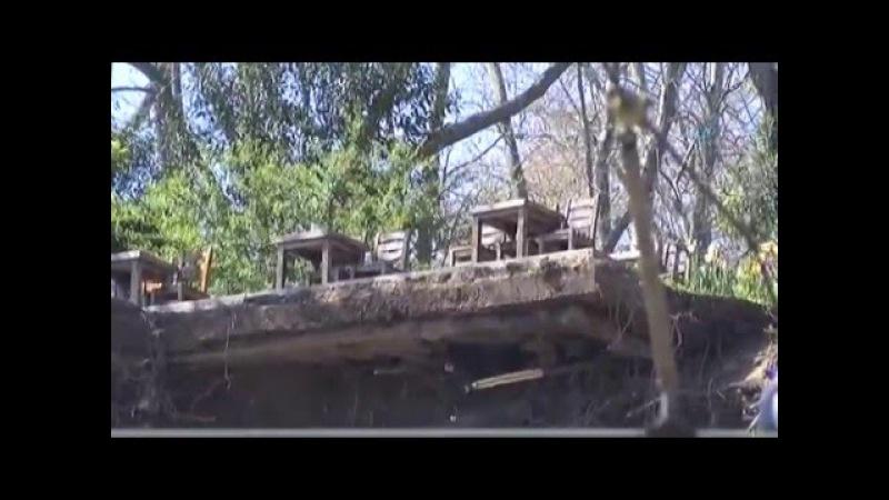 Gülhane Parkında Duvar Çöktü 1 Ölü