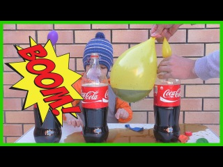 КРУТО! прикол Кока Кола и Ментос / Cool trick Coca Cola and Mentos