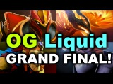 OG vs Team Liquid - The Manila Major - GRAND FINAL