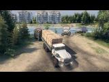 SpinTires 03.03.16 Ural-4320-30В Доработке-Карта-Широкая река