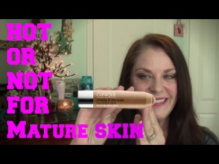 NEW! Clinique Chubby in the Nude Foundation Stick   For Mature Skin?