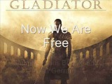 Now We Are Free Lyrics + English Translation 4K Gladiator Soundtrack - Hans Zimmer &amp Lisa Gerrard
