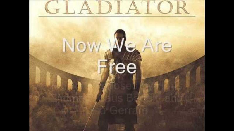 Now We Are Free [Lyrics English Translation 4K] Gladiator Soundtrack - Hans Zimmer Lisa Gerrard