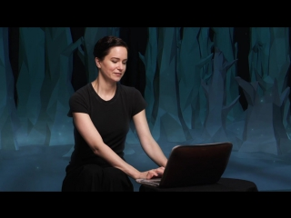 Katherine Waterston discovers her Patronus on Pottermore