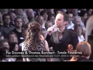 Pia Douwes & Thomas Borchert - Totale Finsternis (aus