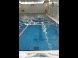 Краснов Александр. Плаваю в бассейне x-fit