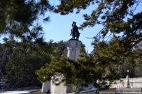06 апреля 2014 - Снежные пейзажи около памятника Татищеву в Тольятти