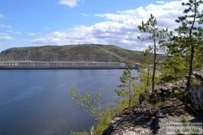 07 мая 2014 - Жигулёвск: Откол на горе у ГЭС