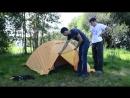 Палатка для СЛОЖНЫХ походов Novatour Памир 3