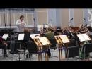Прокопенко Дарья, репетиция с оркестром, 3.01.17