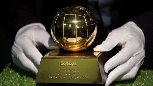 Стали известны все претенденты на футбольный «Золотой мяч»