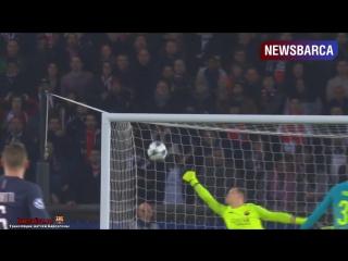 ПСЖ 4-0 Барселона. Лига Чемпионов 2016/17. 1/8 финала. Первый матч.