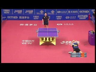 2016 China Super League: FAN Zhendong Vs LIANG Jingkun Full Match/Chinese|HD
