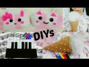 3 Creative School DIYs: DIY Ice Cream&Piano Pencil Cases + DIY Animal Pencil Cases out of Socks