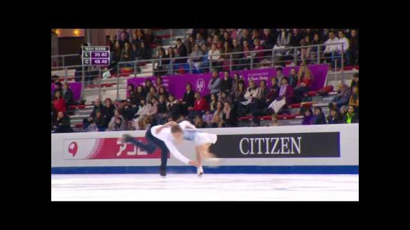 2016 ISU Junior Grand Prix Final - Marseille - Pairs Free - BOIKOVA / KOZLOVSKII RUS