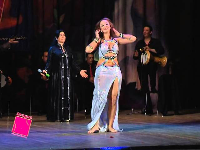 Baed Annak. Belly dancer Veronica Fatin with live band and amazing Hoda Al Sonbaty.