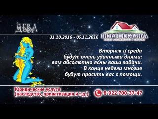 гороскоп декабря дева 2016